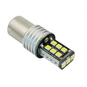 Interlook LED auto žárovka 12V BA15S 15xSMD2835 P21W 5W STUDENÁ BÍLÁ